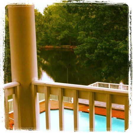 Nesbit, MS: View from our room