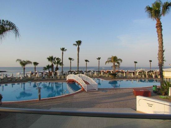 Marlita Beach Hotel Apartments View At Dinner