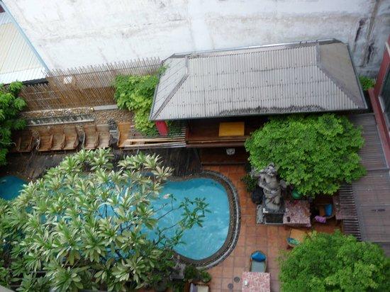 Villa Cha-Cha: vue de la chambre