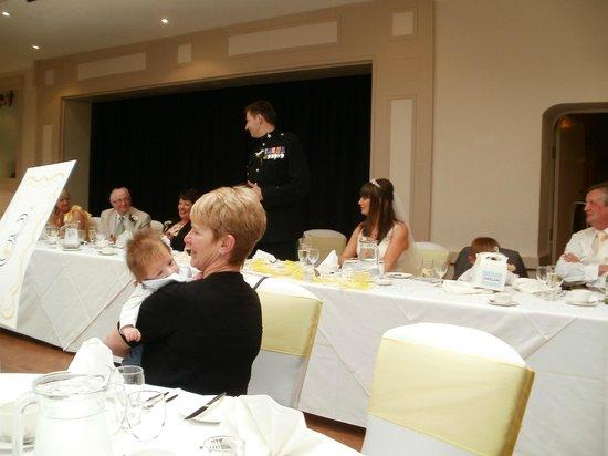 Stirk House Hotel: The grooms speech