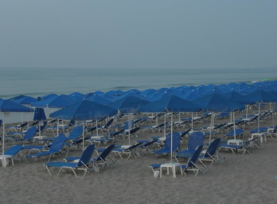 SENTIDO Aegean Pearl: BEACH AREA