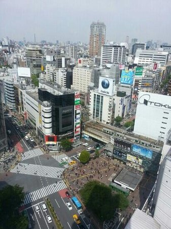 Shibuya Excel Hotel Tokyu: view from the hotel