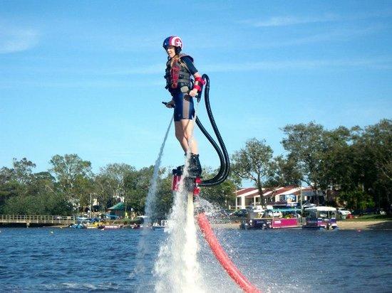 Sunshine Coast Flyboard X-perience: Flyboarding