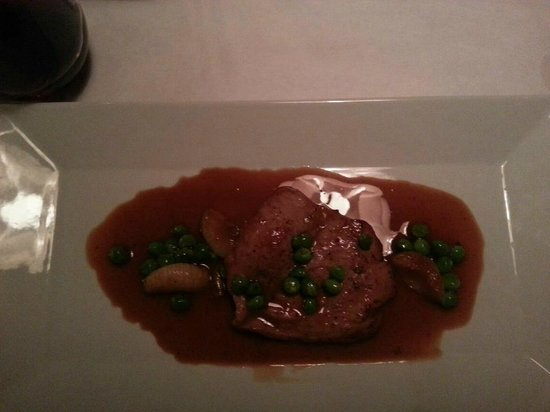 Fuel Restaurant: 2nd course. Mercredi