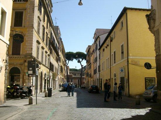 Hotel Bramante: Le quartier Borgo Pio