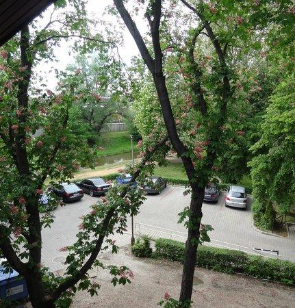 Arany Szarvas Hotel: Zimmeraussicht