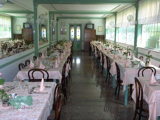 Hotel Mariani: la sala da pranzo