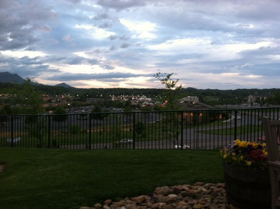 Wyndham Smoky Mountains: The view from the Activities Center