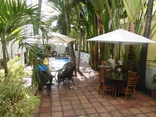 The President Hotel - Miami Beach: Poolbereich