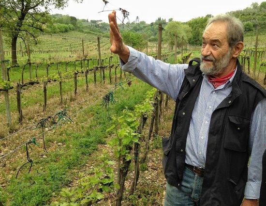 Tenuta Valdipiatta : Gulian, owner and winemaker