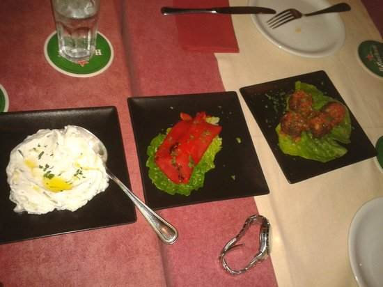 Restaurant Agalma: Our starters