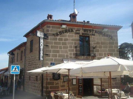 Taberna Restaurante las Murallas: Gran Muralla by day