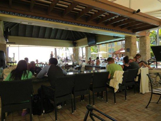 Seabreeze Swim up Bar and Restaurant : Bar