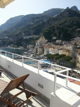 Hotel Marina Riviera: terrazza