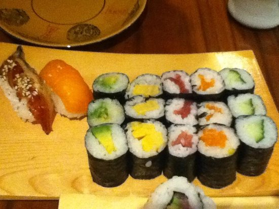 sushi picture of bento amsterdam tripadvisor. Black Bedroom Furniture Sets. Home Design Ideas