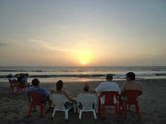 Manzanillo del Mar : un atardecer pa todos