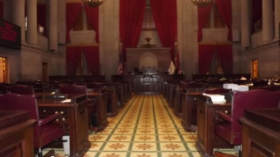 Tennessee State Capitol: The Senate Chamber