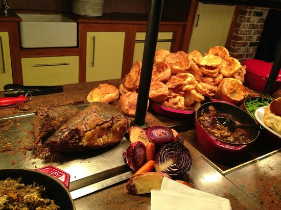 Roast Beef & Yorkshire Puddings - Picture of Dodworth ...