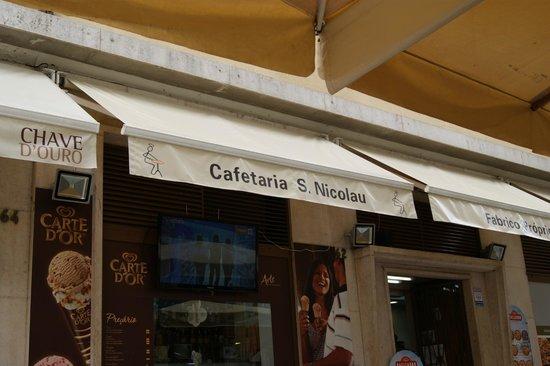 Cafeteria Sao Nicolau: Devanture
