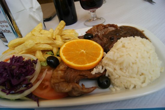 Cafeteria Sao Nicolau: Plat