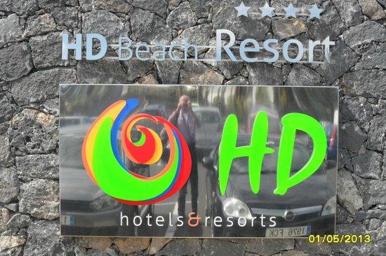 HD Beach Resort : Hotelgelände