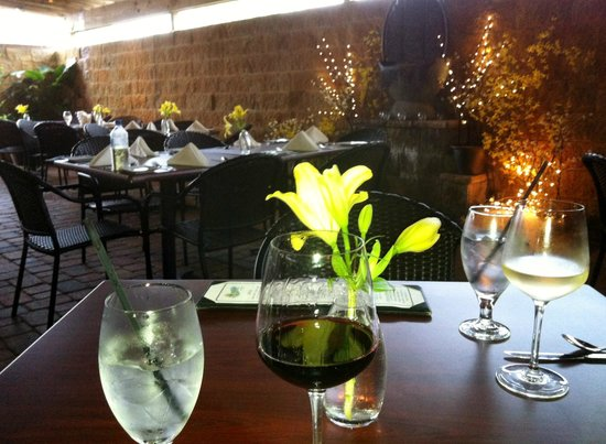 Eleven South Bistro : On the Patio
