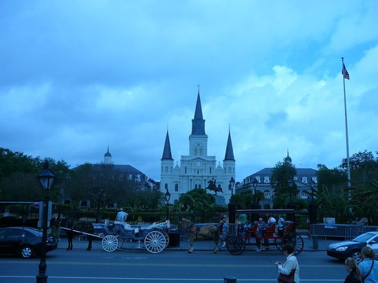 Wyndham Garden Baronne Plaza New Orleans: Jackson Square is nearby