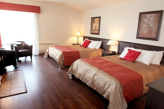 Le Montagnard: Chambre de luxe avec foyer