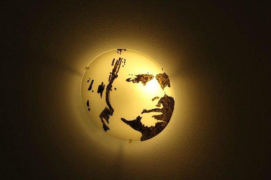 B&B La Bella Vigna: Lamp