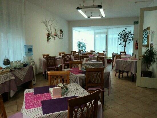Hotel Julia: Sala colazione
