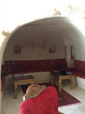 Gamirasu Cave Hotel: Coin salon