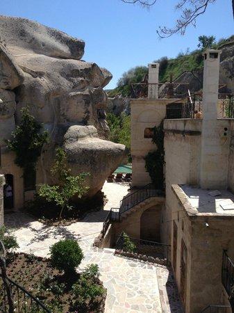 Gamirasu Cave Hotel: Vue extérieure hôtel
