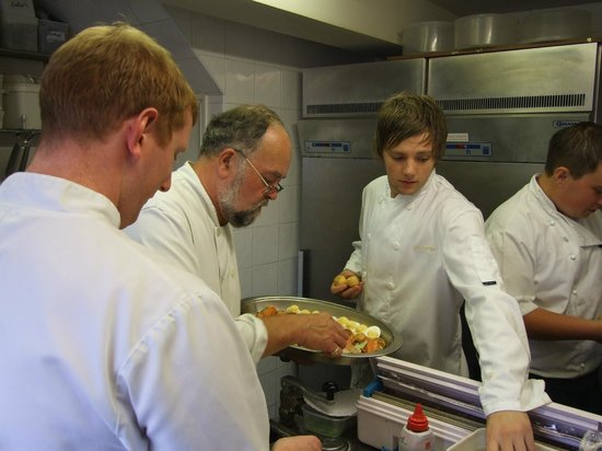 The Peel Aldergate Hotel - Guest Accommodation: The kitchen team at Christopher's Restaurant, The Peel Hotel