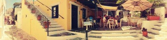 @Lefkiano Restaurant Panoramic view