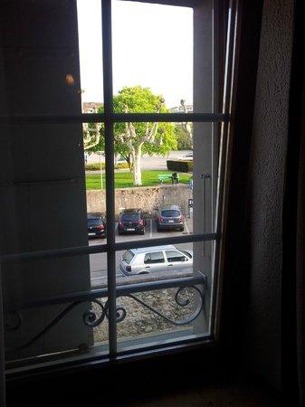 Hotel de l'Ange : Aussicht vom Zimmer