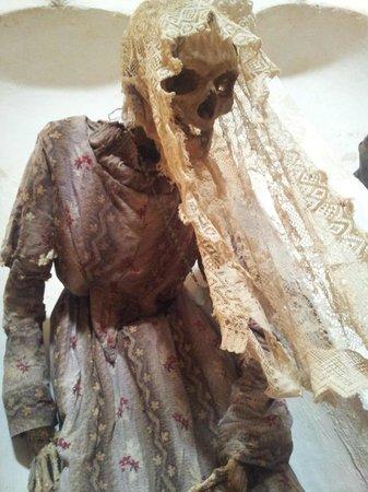 Ferentillo, Włochy: una signorina mummia :)
