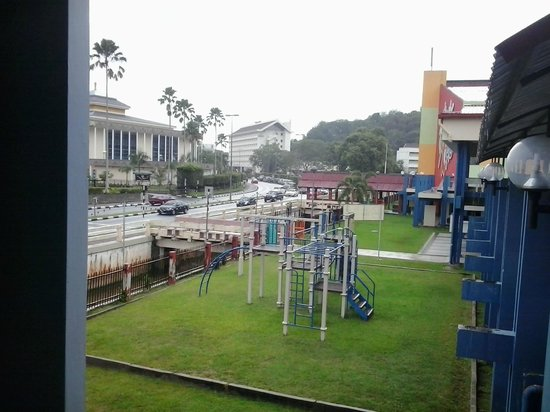 Pusat Belia Youth Hostel: street view from youth hostel