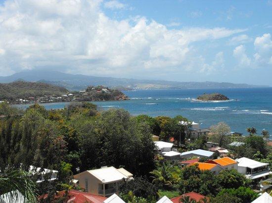 Karibéa Résidence La Goélette: Vue de notre balcon