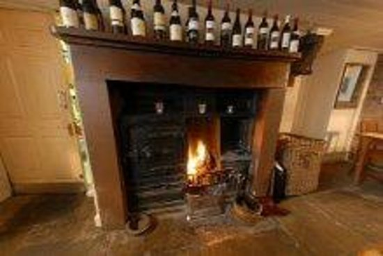 White Horse and Griffin: The well stocked fireplace
