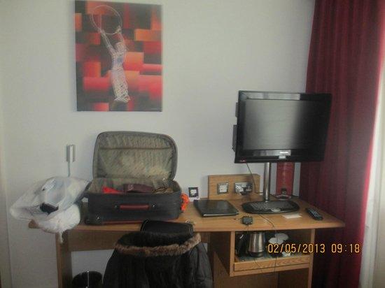 Ramada Encore Belfast City Centre : Habitacion