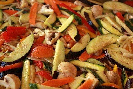 Psistaria Demetris : Roasted Vegetable Ratatouille