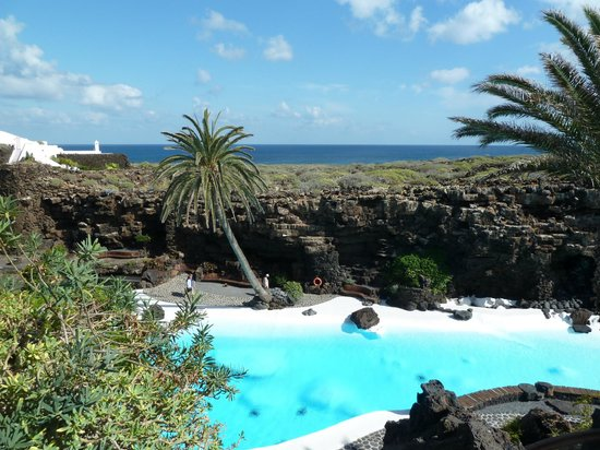 Jameos Del Agua: The view from the top