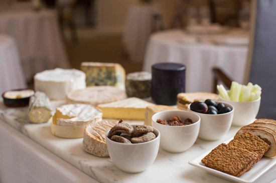 The Atlantic Hotel: Local and continental cheeses