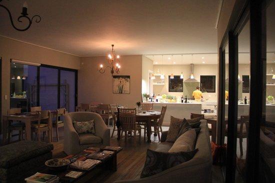 Christiana Lodge: Zeer gezellige zitkamer