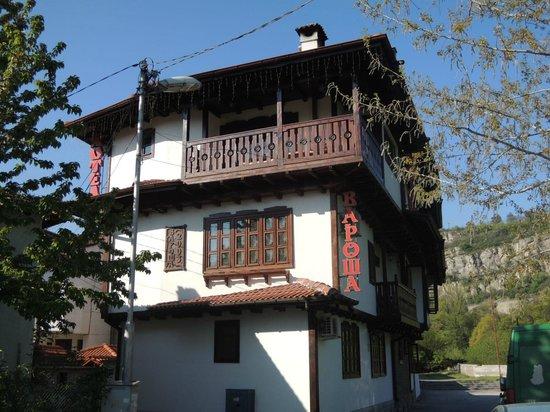 Hotel Varosha 2003: Our balcony