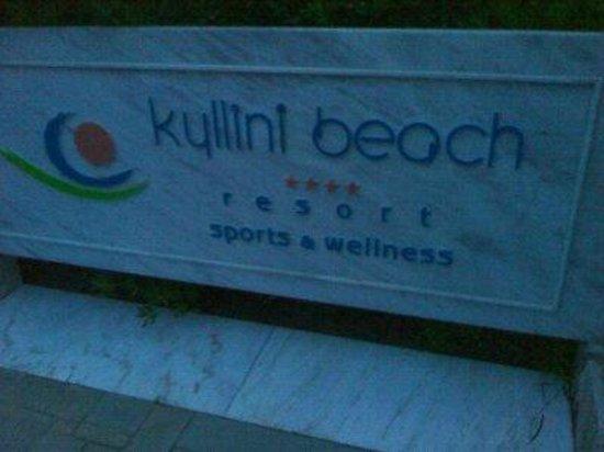 Robinson Club Kyllini Beach: The sign