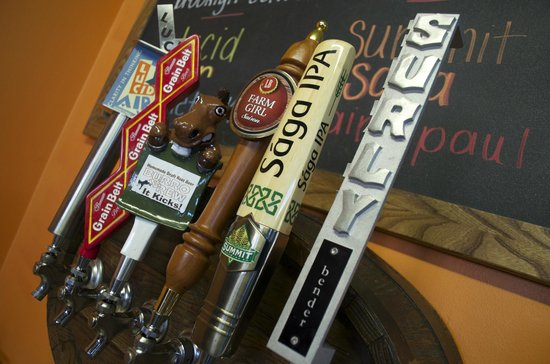 Pedal Pushers Cafe: MN Craft Beers on Tap