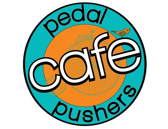 Pedal Pushers Cafe: New sign
