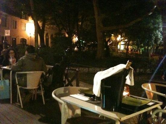 Restaurant Novamesa : vue de la terrasse