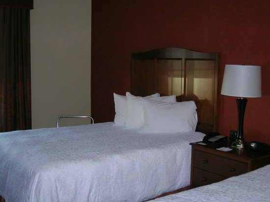 Hampton Inn Bangor: Comfy beds with freshly/laundered spreads.
